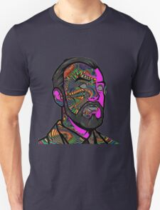 Psychedelic krieger T-Shirt