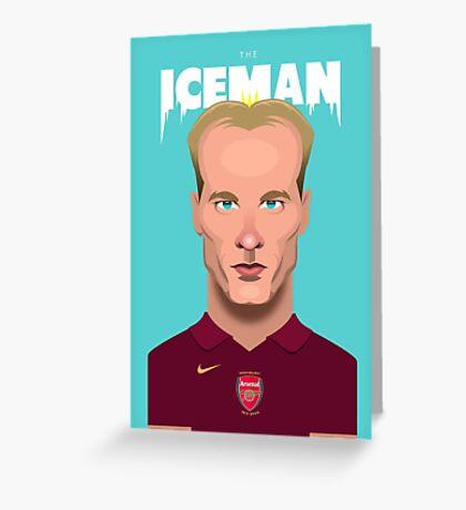 The Iceman Greeting Card
