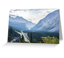 Icefields Parkway Greeting Card