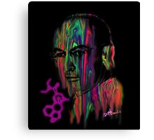 Albert Hoffman LSD Portrait Canvas Print