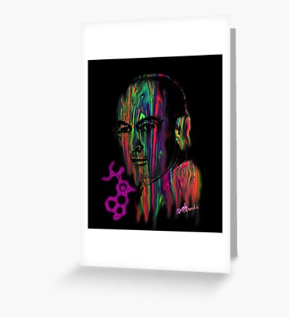 Albert Hoffman LSD Portrait Greeting Card