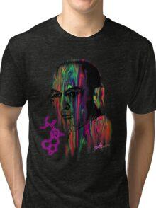 Albert Hoffman LSD Portrait Tri-blend T-Shirt