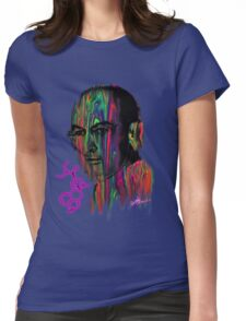 Albert Hoffman LSD Portrait Womens Fitted T-Shirt