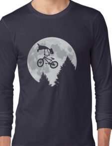 Cool E.T. Long Sleeve T-Shirt