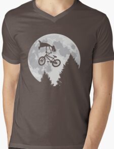 Cool E.T. Mens V-Neck T-Shirt
