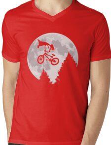Cool E.T. Mens V-Neck T-Shirt