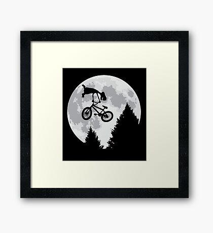 Cool E.T. Framed Print