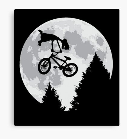 Cool E.T. Canvas Print