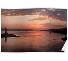 Port Glasgow Sunrise Poster