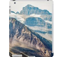 Aerial view of the Canadian Rockies in Banff iPad Case/Skin