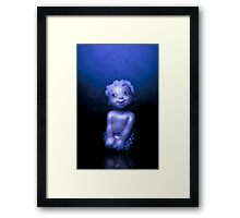 Baby Mermaid Framed Print