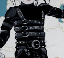 Edward Edward ScissorHands Hands Sticker