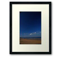 Portobello Blue Framed Print