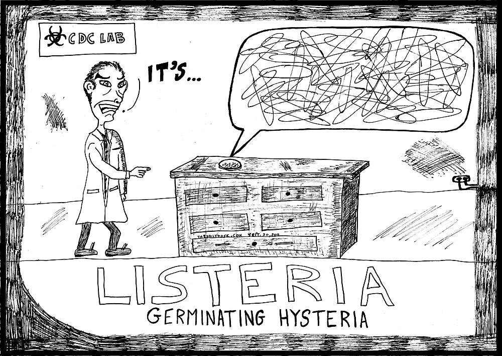 Listeria Hysteria by bubbleicious