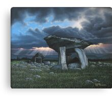 KILCLOONEY DOLMEN Co. DONEGAL  Canvas Print