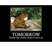 Tomorrow -  Photographic Print