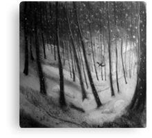 woodland sketch 2 Canvas Print