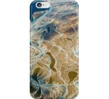 Aerial view of the Canadian Rockies iPhone Case/Skin