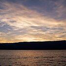 Estavayer Lake Sunset by Ravi Chandra