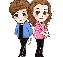 Louis The Mickey & Harry The Minnie by halo-s-art