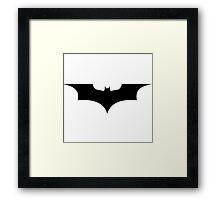 Batman Logo Framed Print