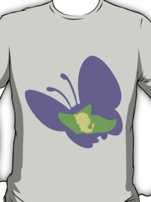 PKMN Silhouette - 010 Caterpie family T-Shirt