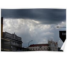 Foreboding - Storm Passing Overhead Poster