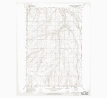 USGS Topo Map Oregon Strawberry Canyon SW 281665 1968 24000 One Piece - Short Sleeve