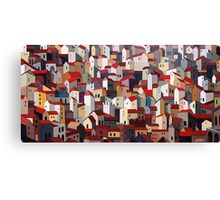 Urban Crowding Canvas Print
