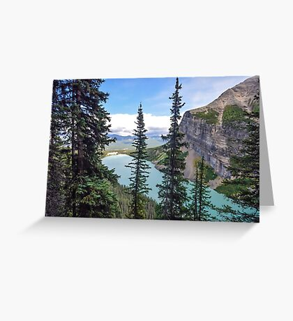 Lake Louise, Banff National Park, Canadian Rockies Greeting Card