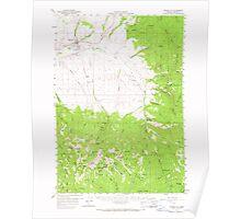 USGS Topo Map Oregon Prairie City 282812 1959 62500 Poster