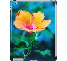 Orange flower iPad Case/Skin