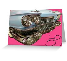 59 Cadillac Greeting Card