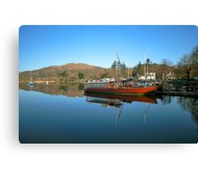 Queen Of The Lake Windermere Canvas Print