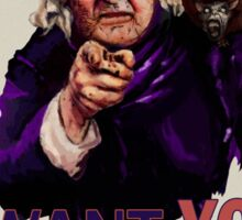 Aunt Keziah: Vote Cthulhu for President Sticker