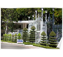 Landscaped Gateway Poster