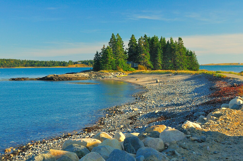 Point of Maine, Starboard Peninsula, Maine by fauselr