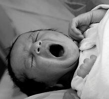 New born baby - sleepy by Aditya Sikaria
