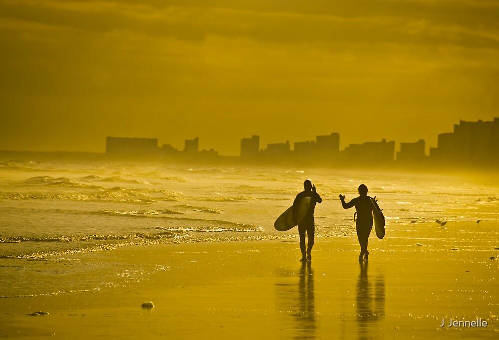 Surfer Dudes by Joe Jennelle