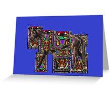 Walking Horse Greeting Card