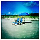 Beach Chairs by Rene Hales