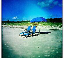 Beach Chairs by Rene Hales