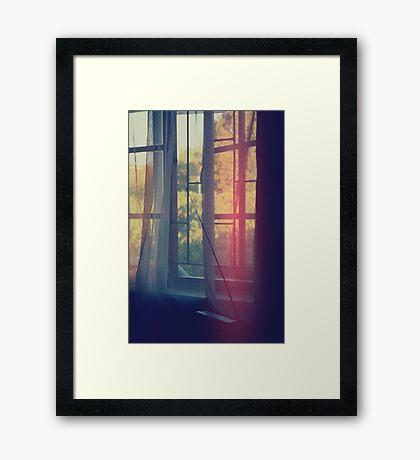 radio days. Framed Print
