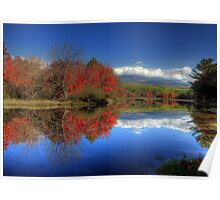 Autumn at Mt. Katahdin Poster