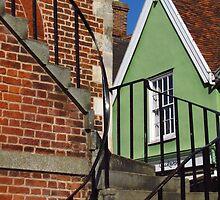 Steps, Shire Hall, Woodbridge by wiggyofipswich