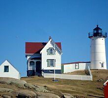 Nubble Lighthouse by bradleyduncan