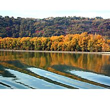Autumn along the Rhone Photographic Print