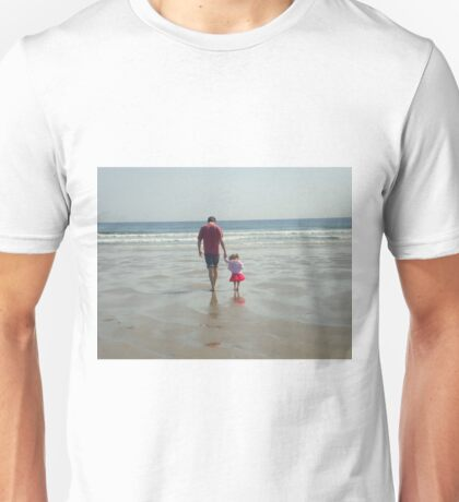 Daddy and his little girl Unisex T-Shirt