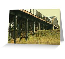 Cast Iron Bridge Greeting Card