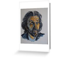 John Glover-Lex Luthor Greeting Card